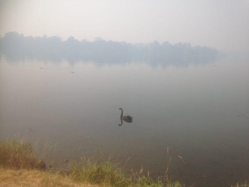 Smokey lake