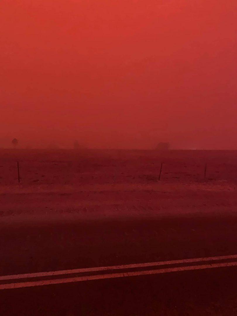 Fire near Nerriga