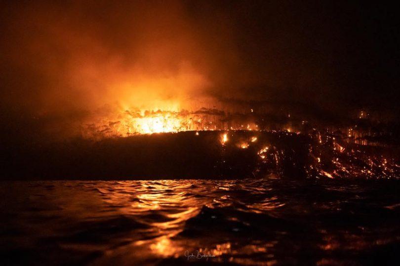 Currowan fire