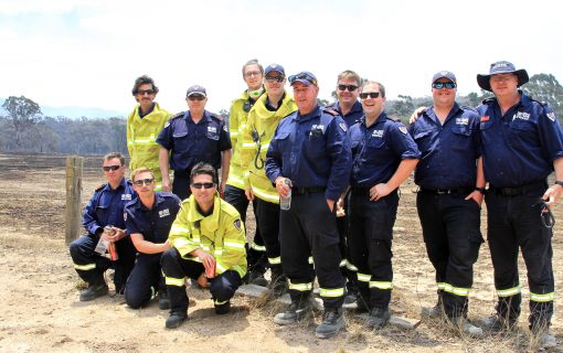 """Outstanding work from all the firies"" – our firefighting heroes stand tall"