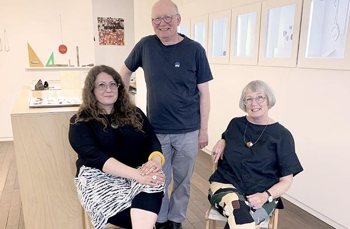 Mio Kuhnen, Johannes Kuhnen and Helen Aitken-Kuhnen
