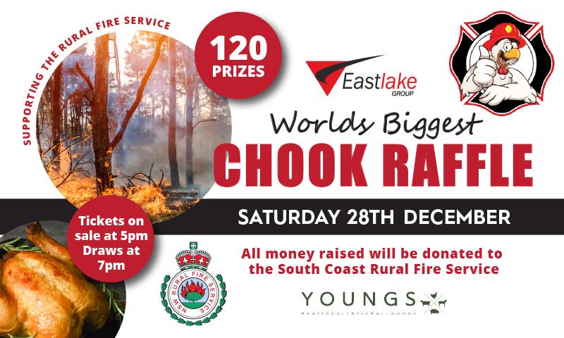 World's Biggest Chook Raffle