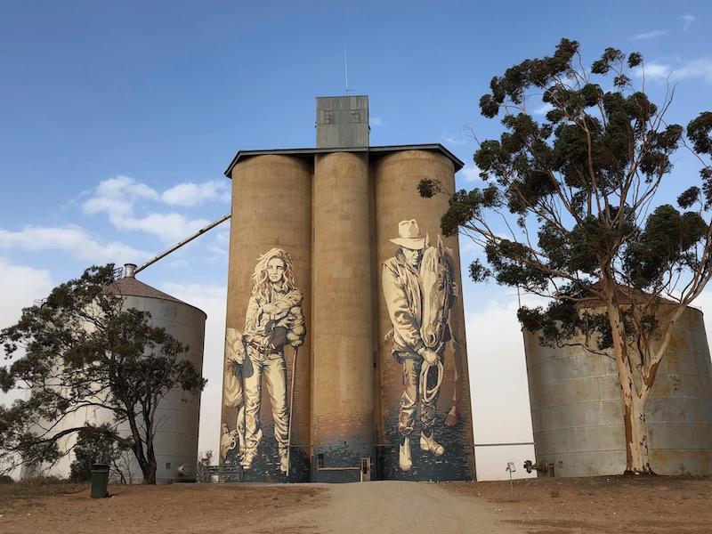 Rosebery silos