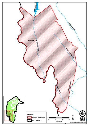The Bimberi Wilderness area