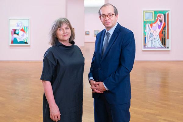 Jane Kinsman and Laurent le Bon