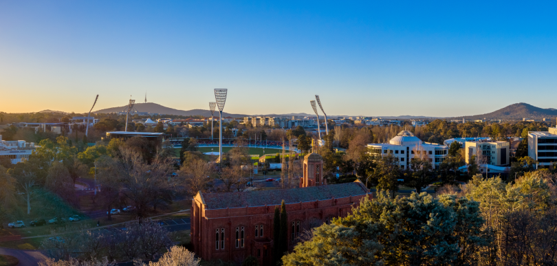 Views of Manuka Oval from Renaissance