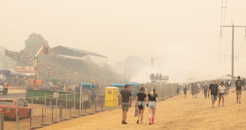 Smoke at Summernats 2020