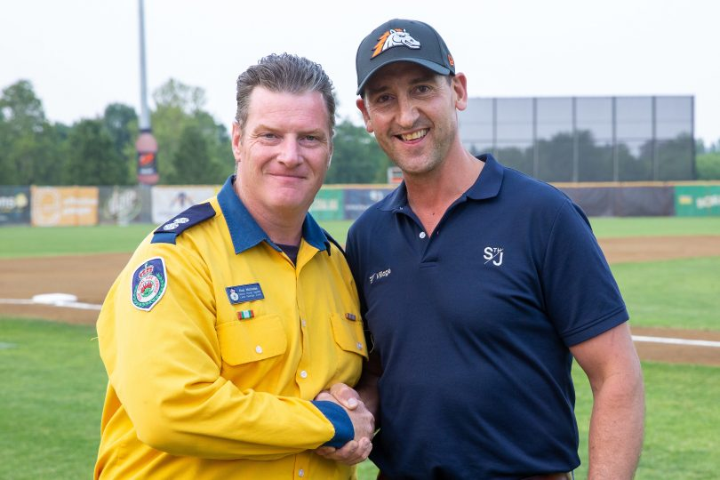 Village Building Co (VBC) with RFS at Canberra Cavalry