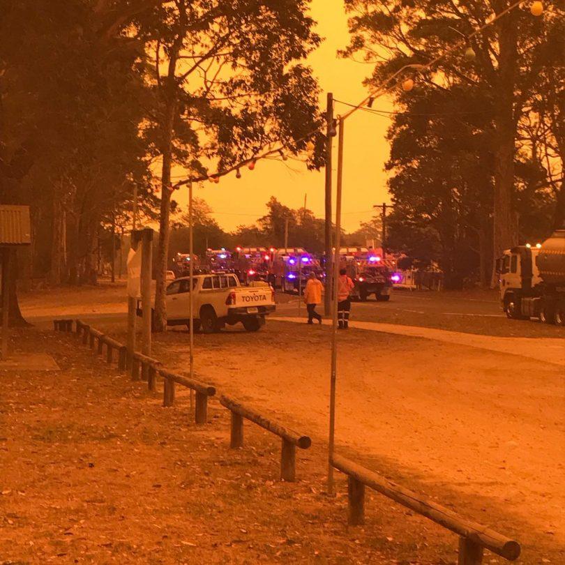 January bushfires