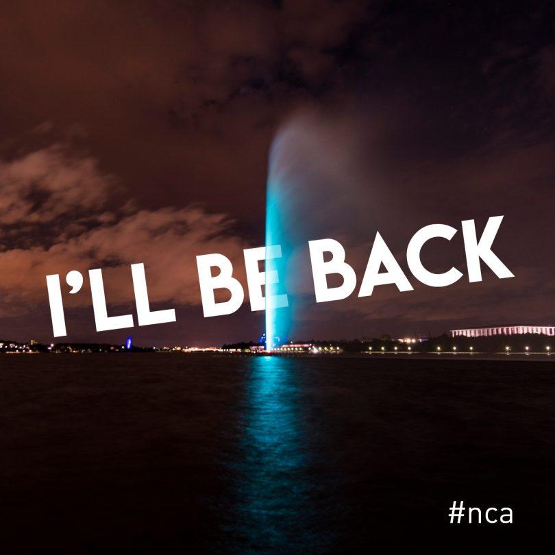 NCA fountain
