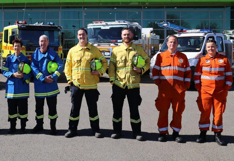 ACT ESA, fires, bushfires, SES, ACT RFS