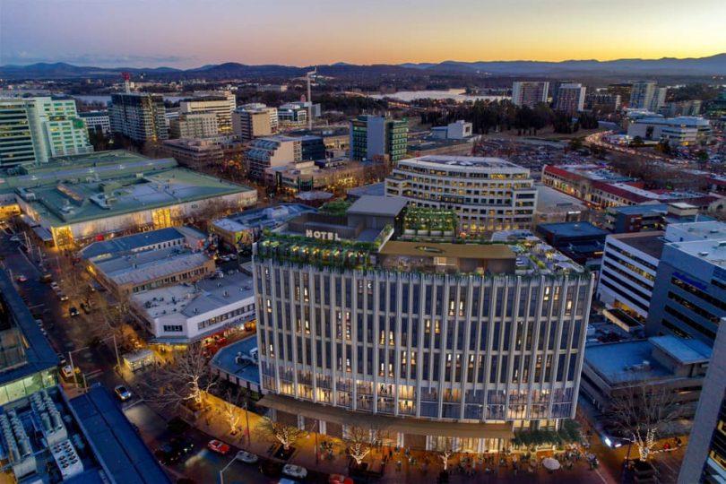 Canberra City Luxury Hotel