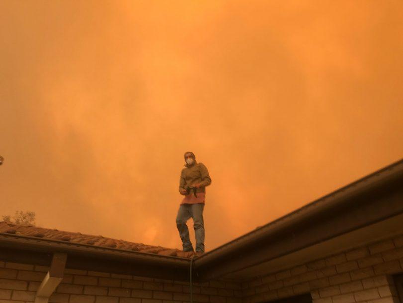 Moruya blaze 23 January