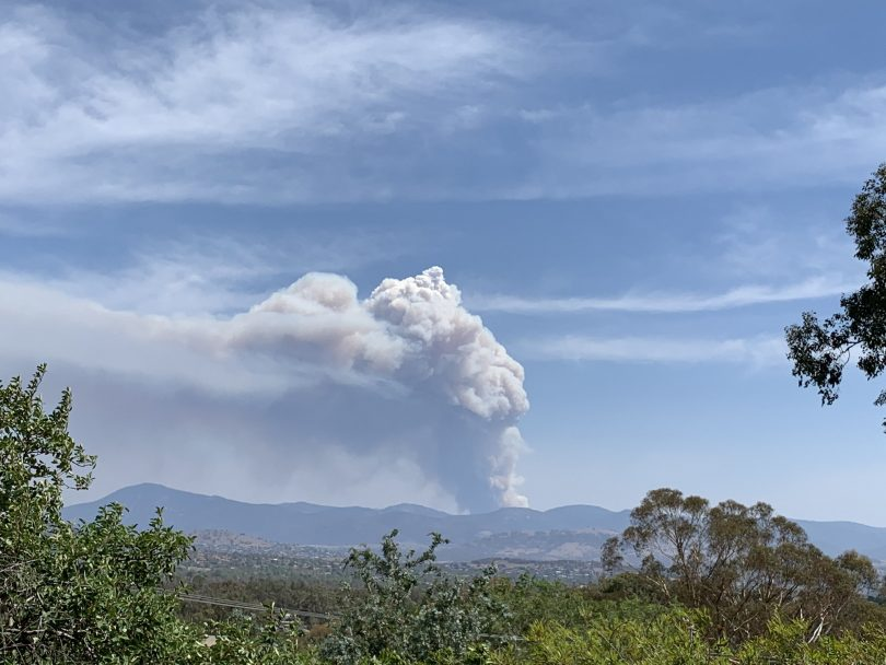 Orroral Valley fire
