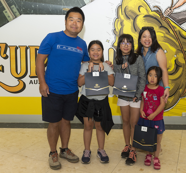 Caitlin Chee Fui and her family