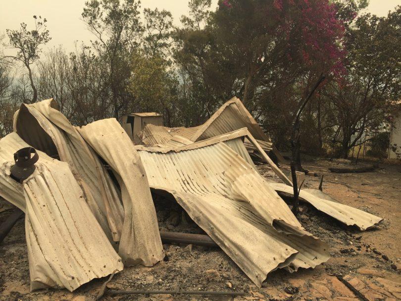 Bushfire victims