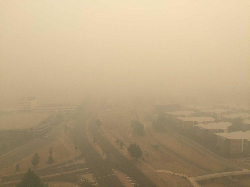 A murky view of Woden