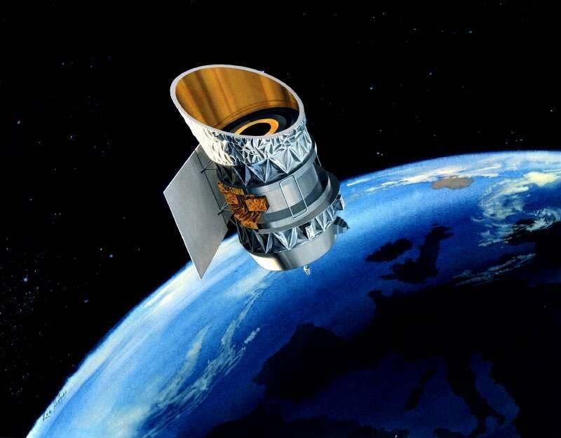 IRAS satellite