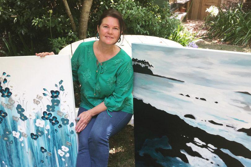 South Coast Artist Naomi Crowther