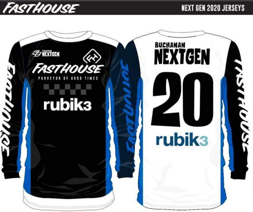 Rubik3: Next Gen Scholarship 2020 jersey