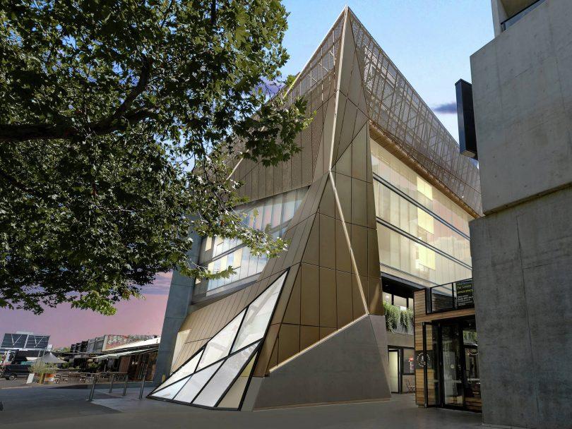 The Nibu facade