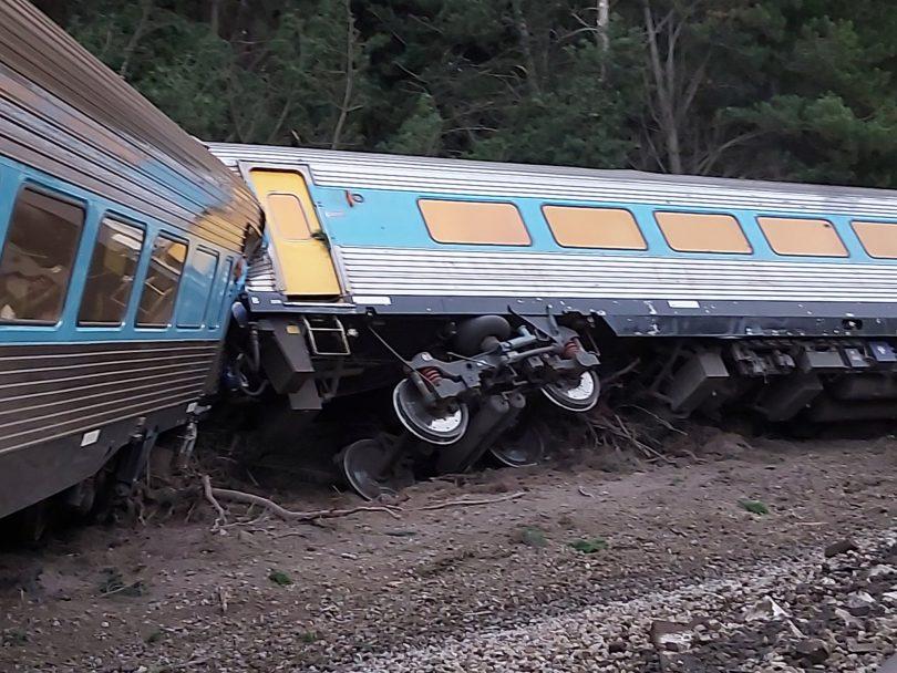 XPT derailment