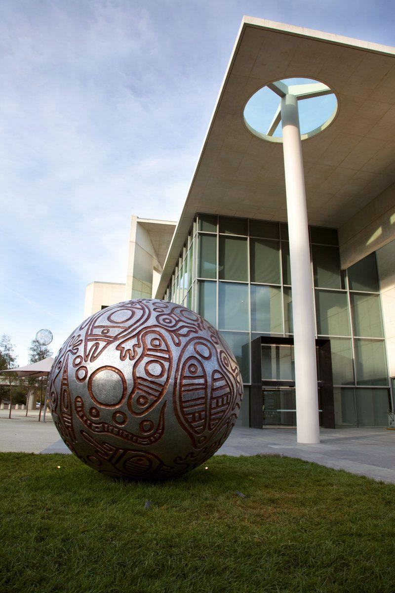 Thanakupi's aluminium sculpture