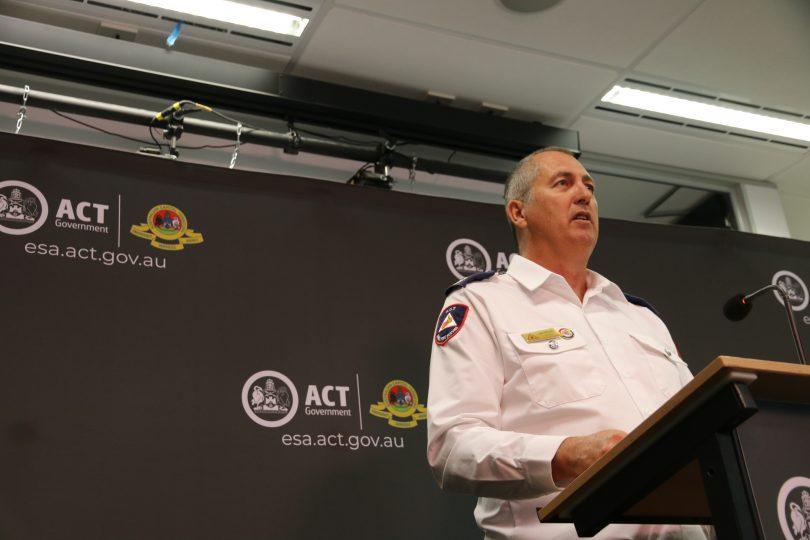 ACT RFS Chief Joe Murphy