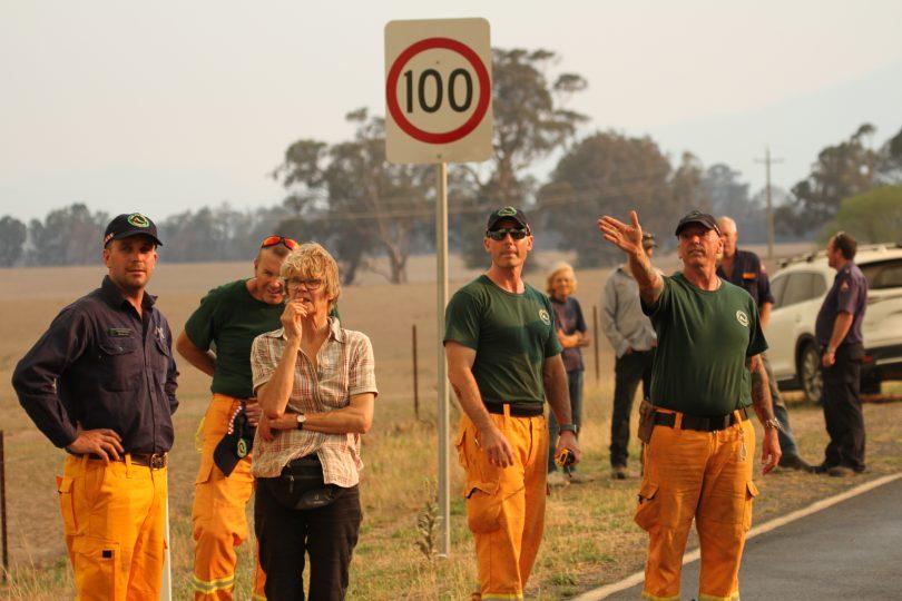 Queensland Rural Fire Service members