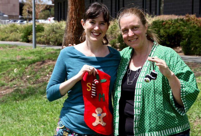 Juanita Watters and Bianca Brownlow