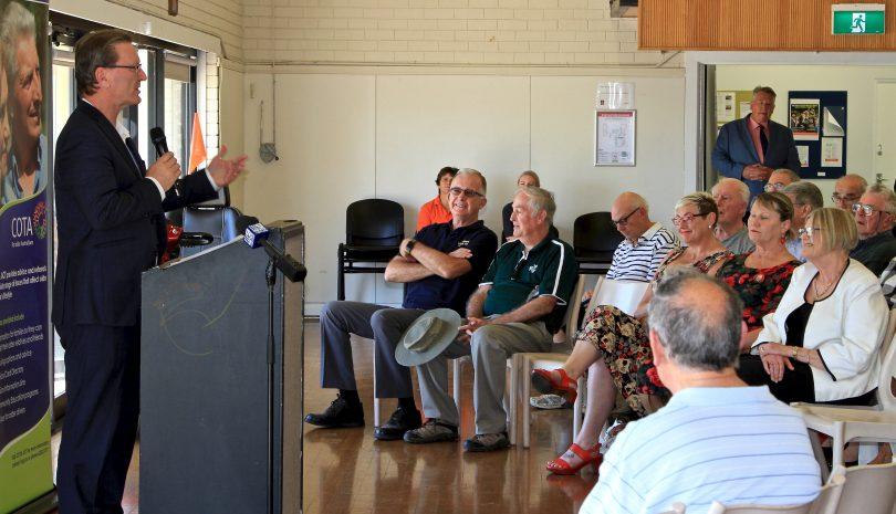 Minister for Seniors and Veterans Gordon Ramsay