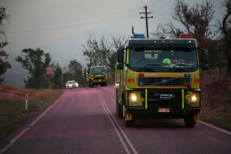 ACT fire fighting vehicles