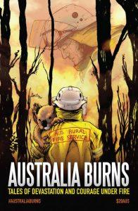 Australia Burns bushfire benefit comic