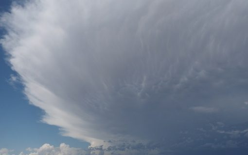 Hail and thunderstorms on the horizon later today