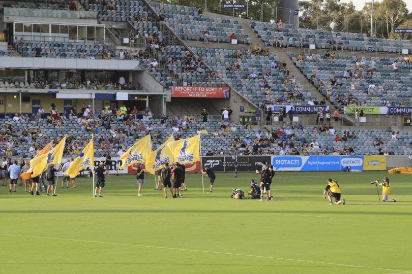 Brumbies at Canberra Stadium