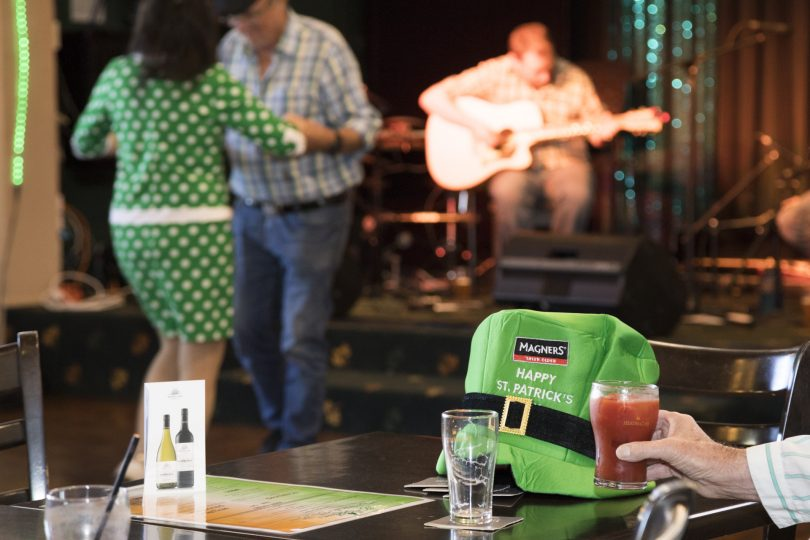 St Patrick's Day at the Canberra Irish Club