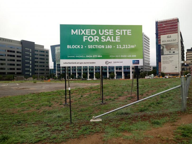 Woden site