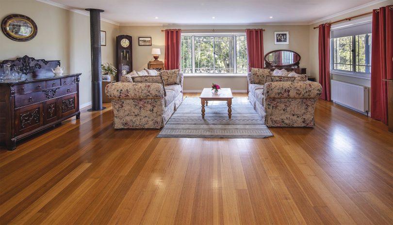 The floorboards