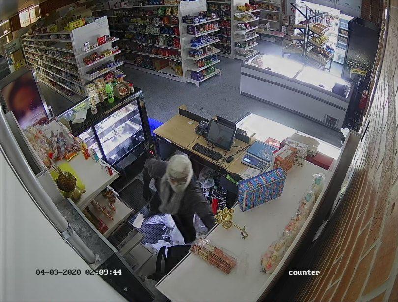 CCTV forage of a break-in at Ajijo