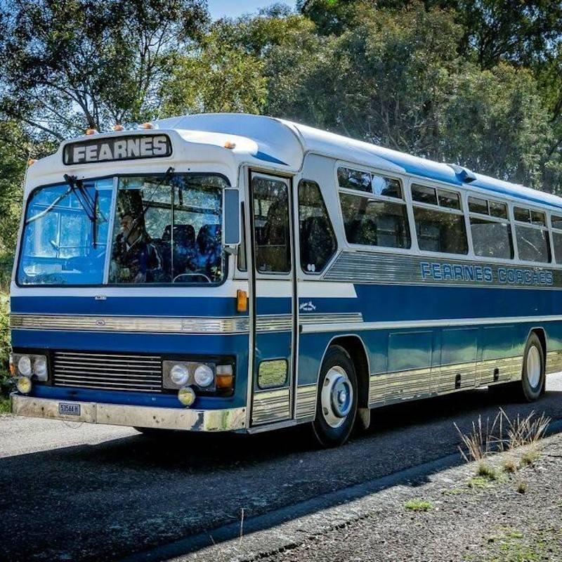 Ken McKay's bus