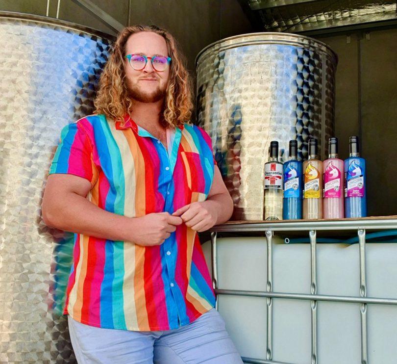Ben Osborne from Unicorn Spirits in Canberra