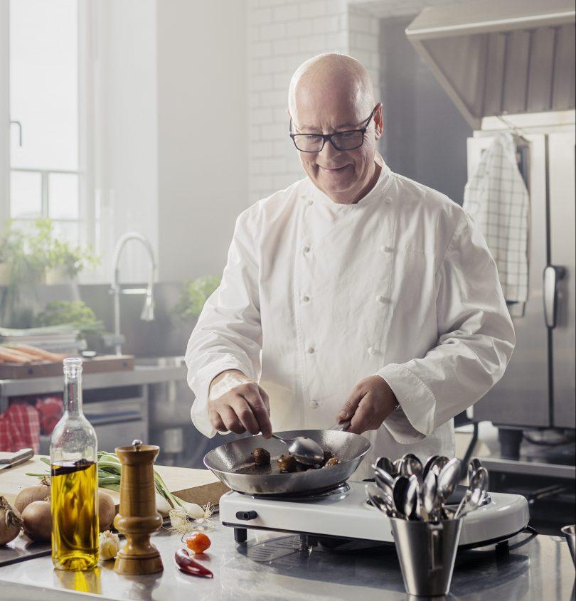 Swedish chef Severin Sjöstedt