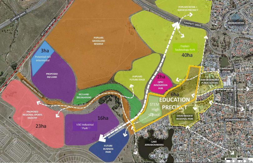 South Jerrabomberra Innovation Precinct