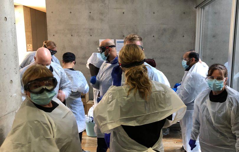 Aspen Medical team working in Tokyo