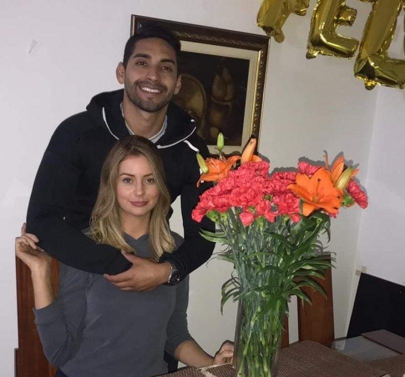 Zoe and Luis in Bogota