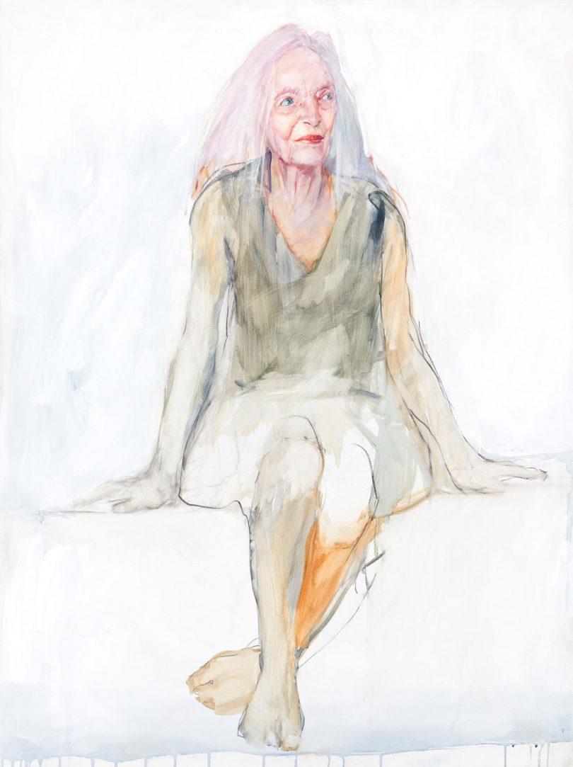 Artist Anthea da Silva has won the inaugural Darling Portrait Prize with her portrait of Dr Elizabeth Dalman OAM.