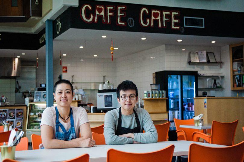 Cafe Prosper's owner KC