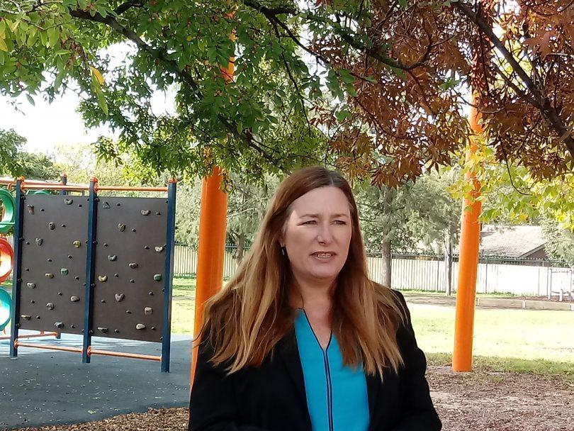 Education Minister Yvette Berry