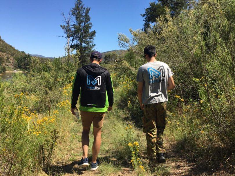 Menslink walks for mental health