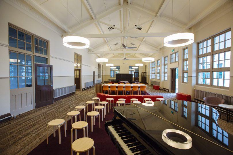 An Ainslie + Gorman performance space
